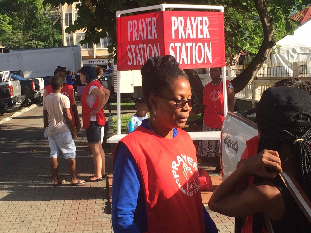 Prayer Station in Castries YWAM SL