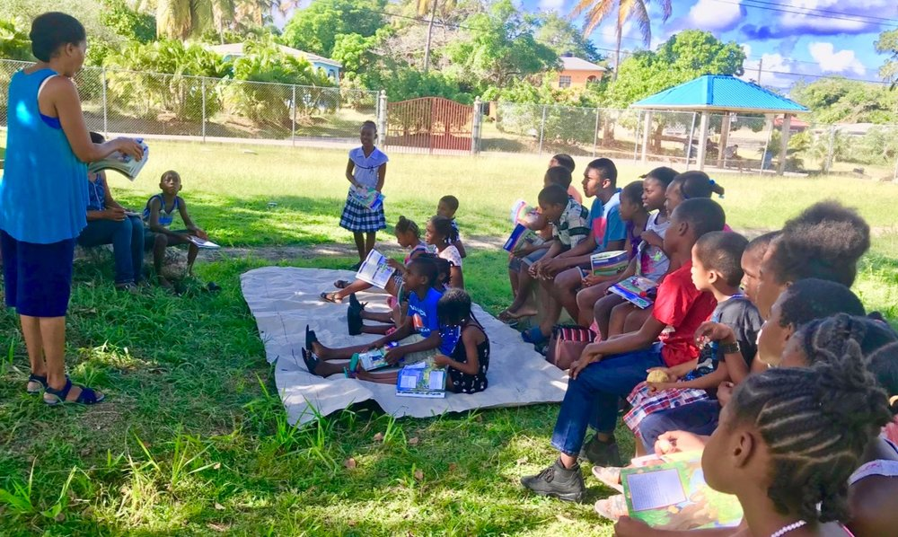 A part-time student started a community Kids Club in the South