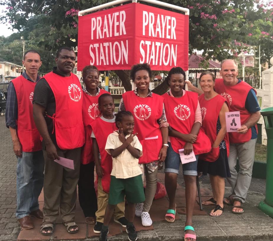 YWAM SL Prayer Station Team