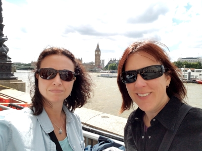 Along the River Thames with Big Ben