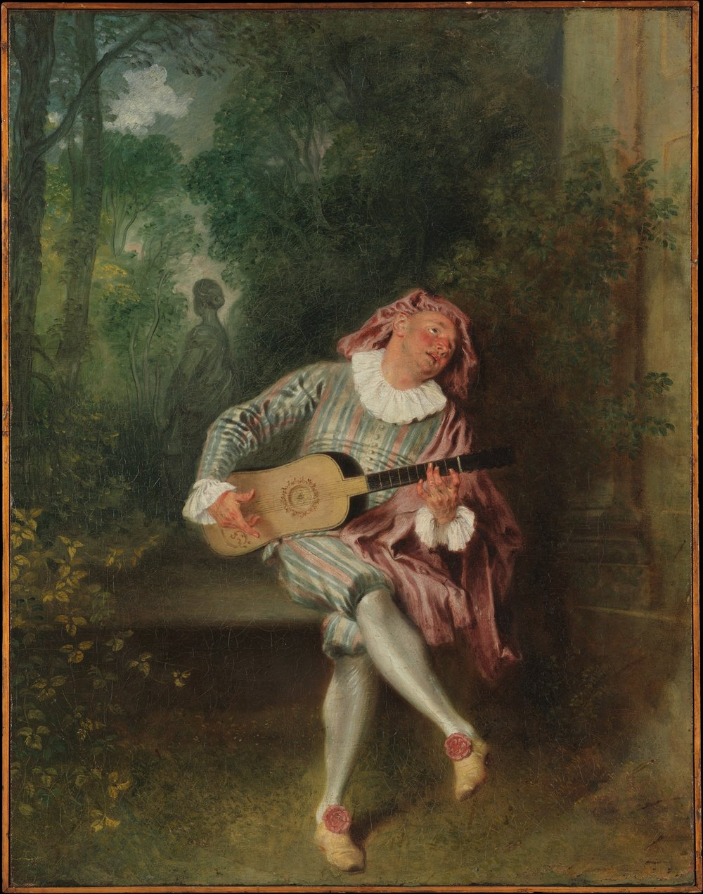 Antoine Watteau (1684-1721):  Mezzetin         (1733). Courtesy of the Metropolitan Museum of Art - corresponds to Godowsky  Watteau-Paysage  on the CD.