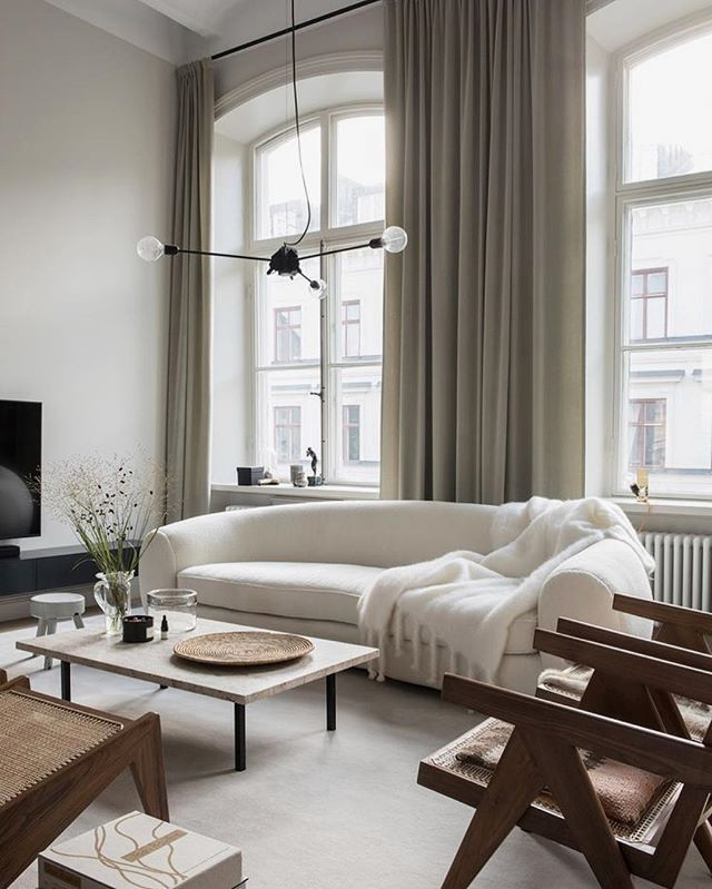Elegant home of acclaimed architect Andreas Martin-Löf - what a dream! #inspo #thedream #nordicdesign