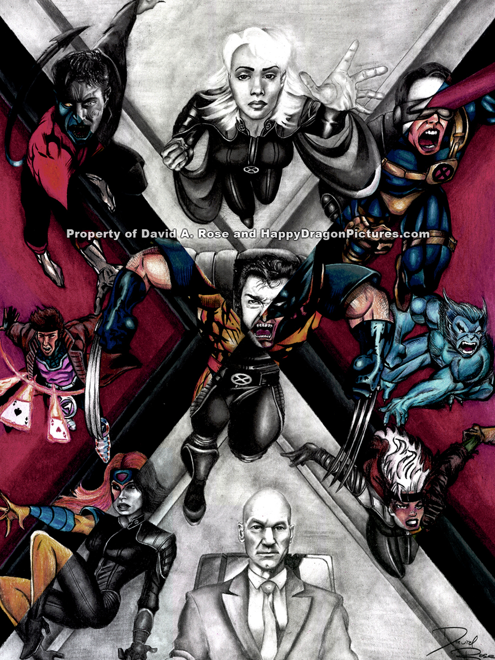 X-Men: Comics To Screen (2003)