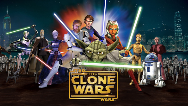 Star Wars: The Clone Wars  aired for five seasons, with a sixth completed as a Netflix exclusive.