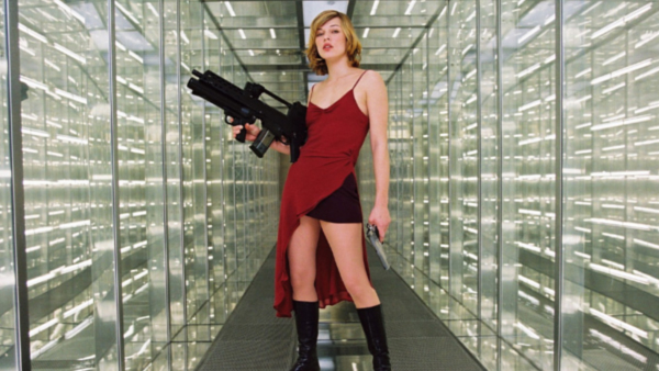 Milla Jovovich as Alice, a character unique to the  Resident Evil  films.