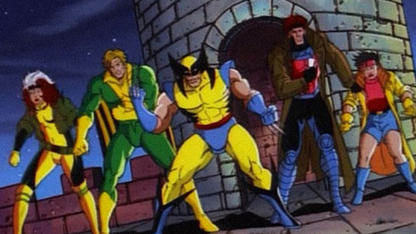 The  X-Men  cartoon kept the costumes from the comics, something the movies opted not to do.