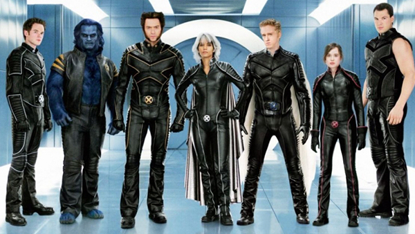The new team in  X-Men: The Last Stand  contained only three members from the previous films.