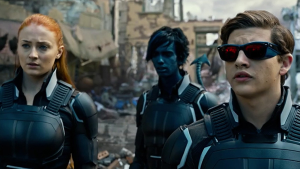 The characters of Jean Grey (Sophie Turner), Nightcrawler (Kodi Smit-McPhee), and Cyclops (Tye Sheridan) make their return to the X-Men saga.