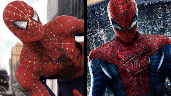Left: Spider-Man. Right: Twilighter-Man.
