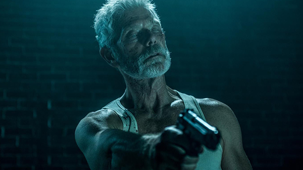 Stephen Lang's Blind Man is a brutal and surprisingly capable antagonist.