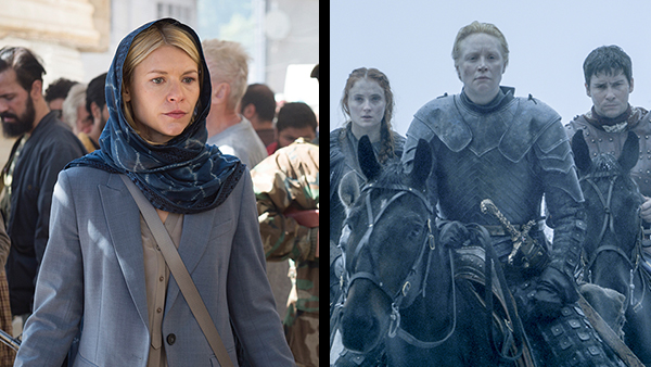 HBO's  Game of Thrones  (right) and Showtime's Homeland (left) are two vastly different, popular dramatic premium channel shows.
