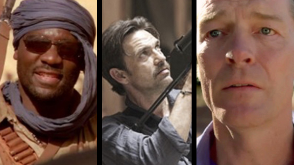 Three of the many great two-episode guest stars, from left to right: Adewale Akinnuoye-Agbaje, Dougray Scott and Iain Glenn.