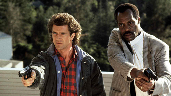 "Lethal Weapon gave us one of the most iconic and memorable buddy cop pairings of all time with ""Crazy Eyes"" Riggs (Mel Gibson, left) and ""I'm too old for this shit"" Murtaugh (Danny Glover, right)."