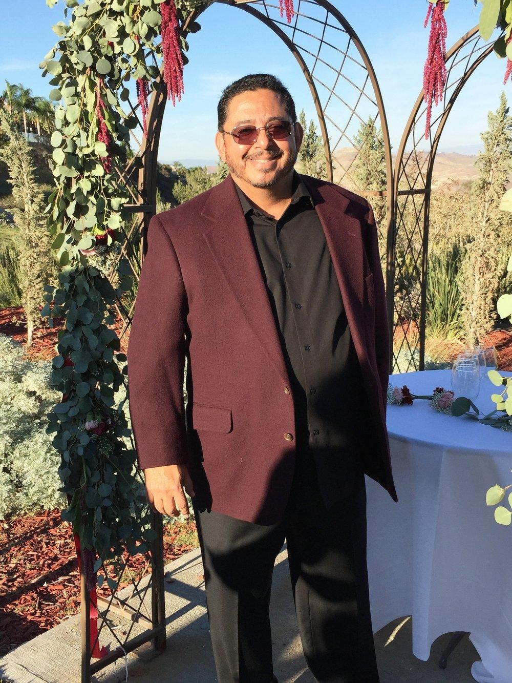 Gabriel Burgos - Pastor & Wedding Officiator