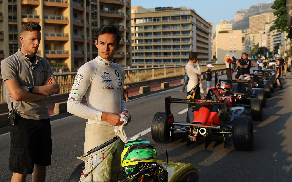 Luis and Formula Renault Eurocup will head to the Pau street circuit