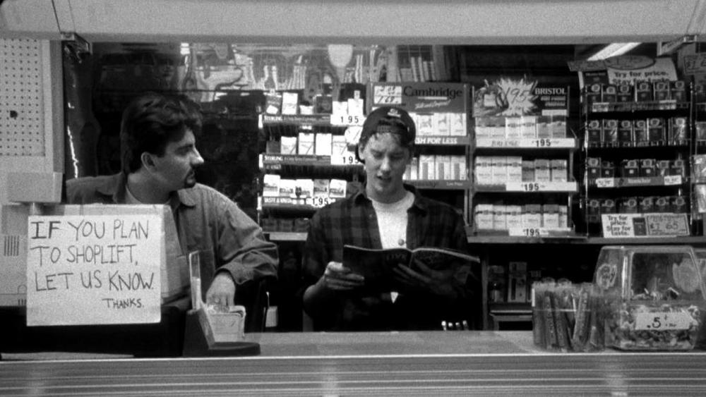 Fun Fact:  Clerks (1994) was shot in Black and White because there was no budget for a proper lighting rig.  The mixed colour temperatures onset would have been prohibitively expensive to correct, so they decided to solve the problem in the easiest way possible:  shoot on black and white film stock