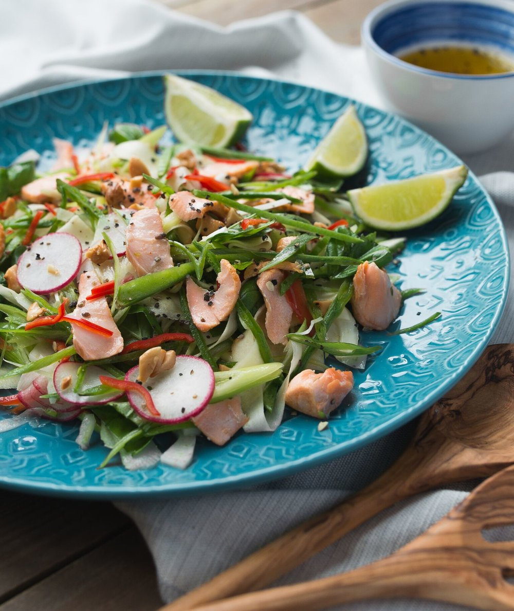 BigFish Brand Thai Salmon Salad