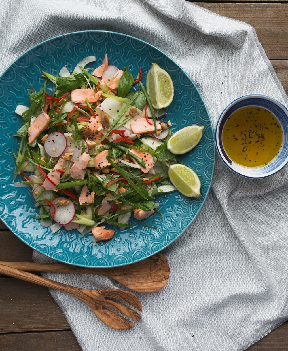 BigFish Brand Eastern Thai Salmon Salad