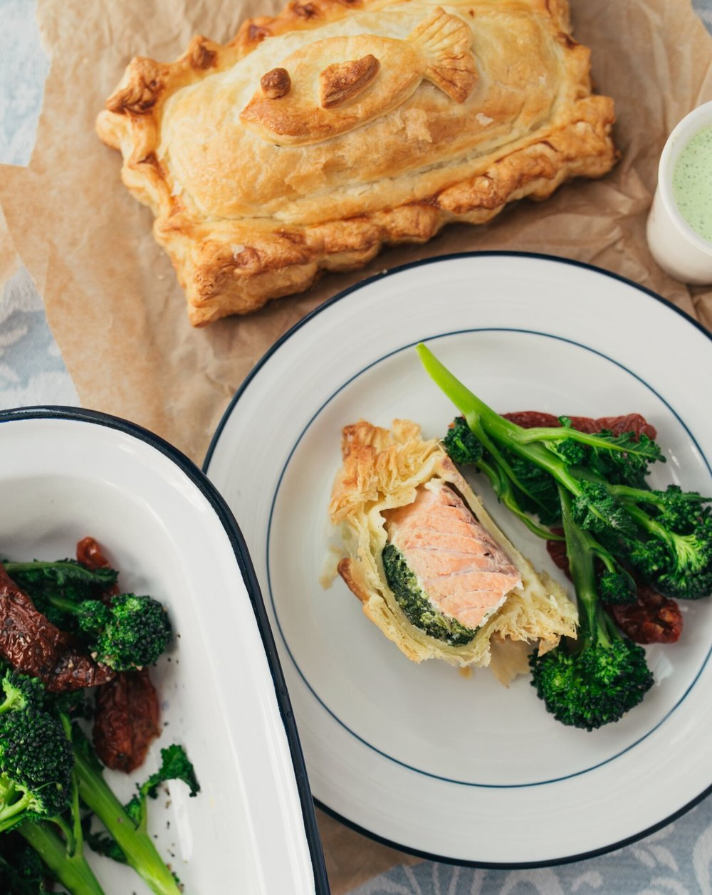 Lemon and Pepper Salmon En Croute