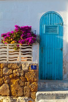 Minorca Blue Door
