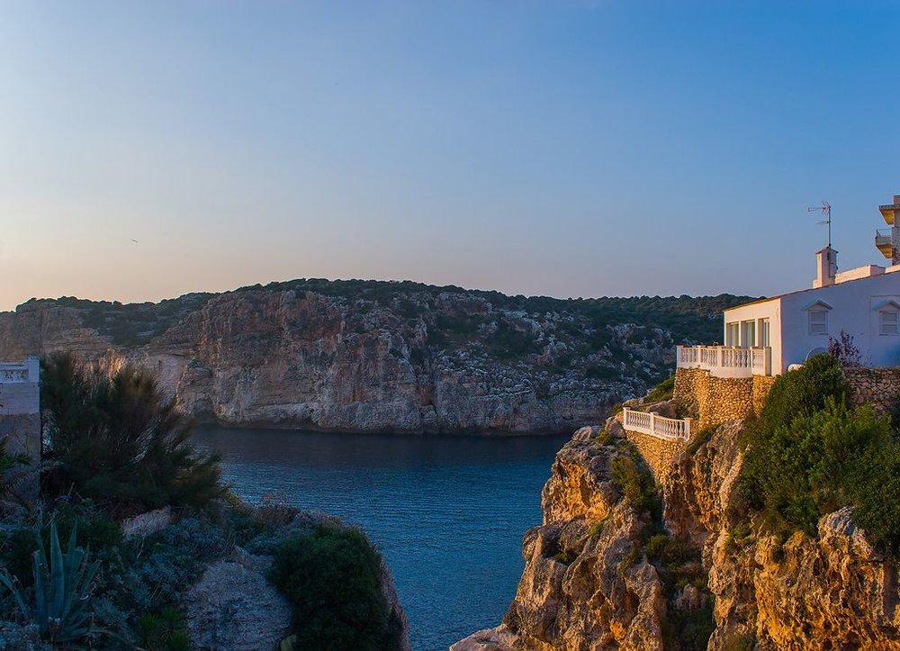 Menorca Villa looking over Sea
