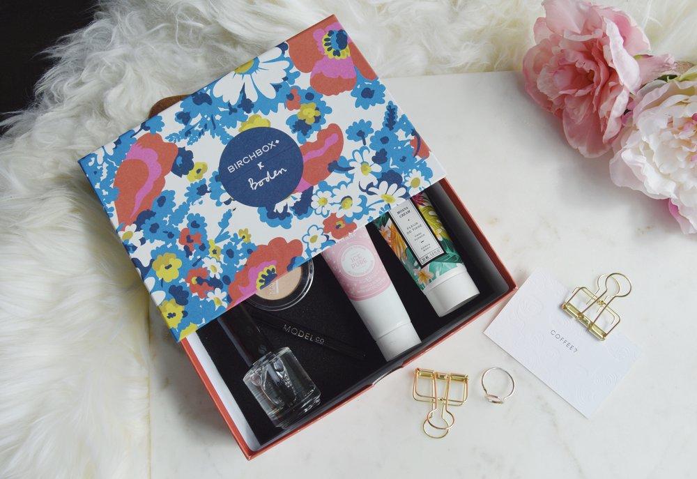 Birch box April Edition, Beauty Blogger