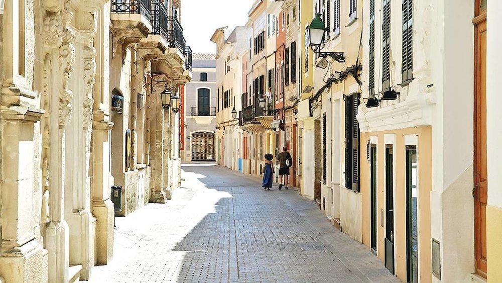 Menorca Ciutadella, Shopping in Menorca
