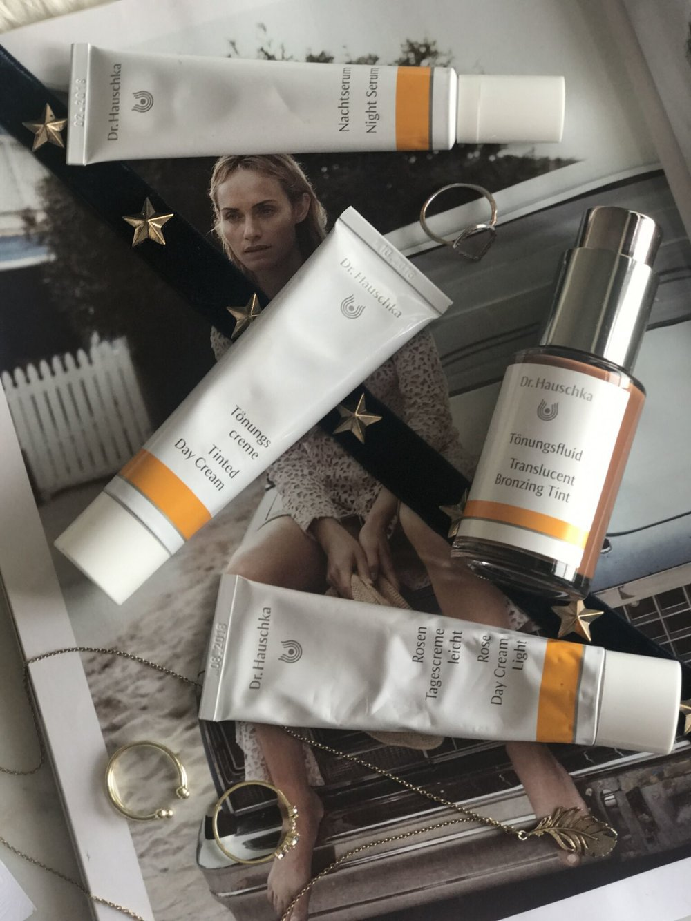 Dr Hauschka Skincare Range, The Creative Larder, Beauty blogger review.