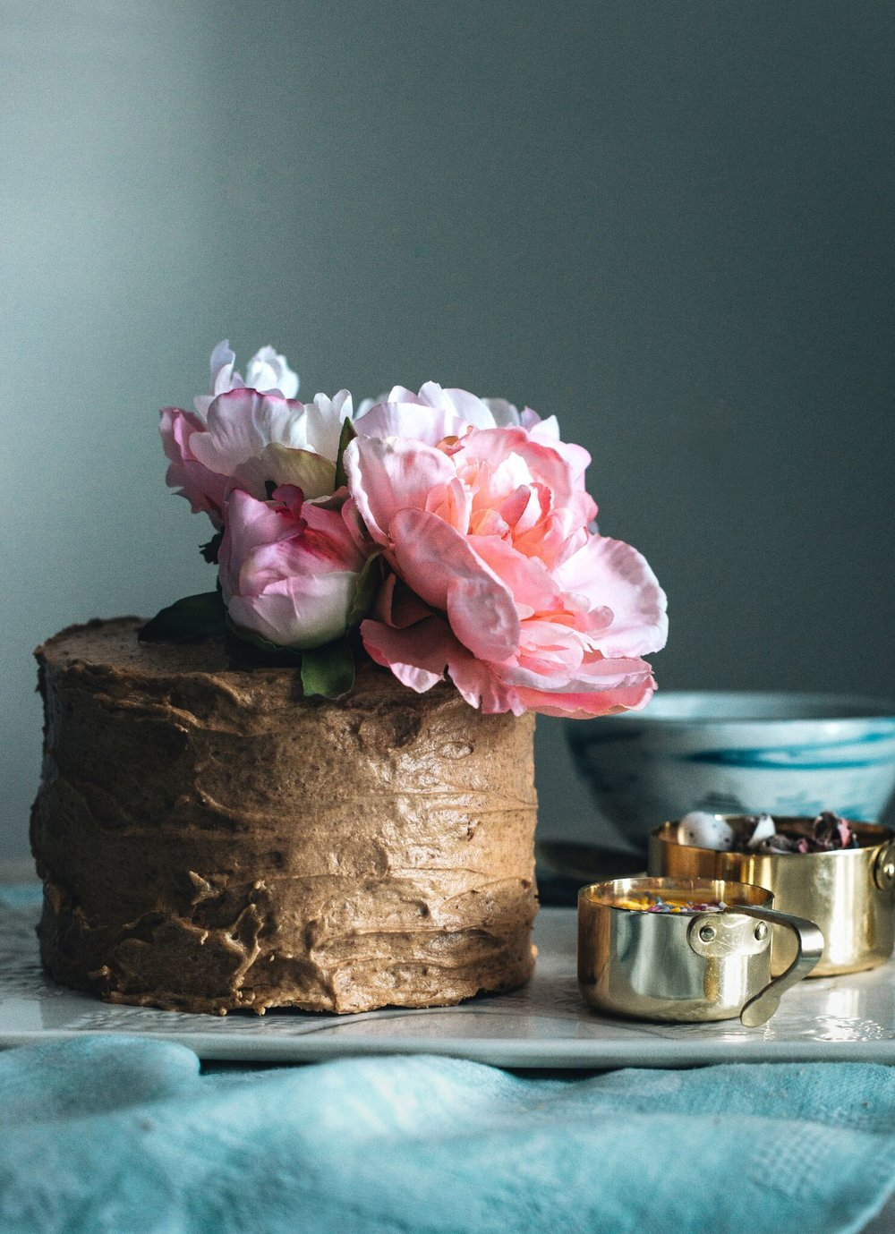 Coffee Cake, Food Styling by The Creative Larder