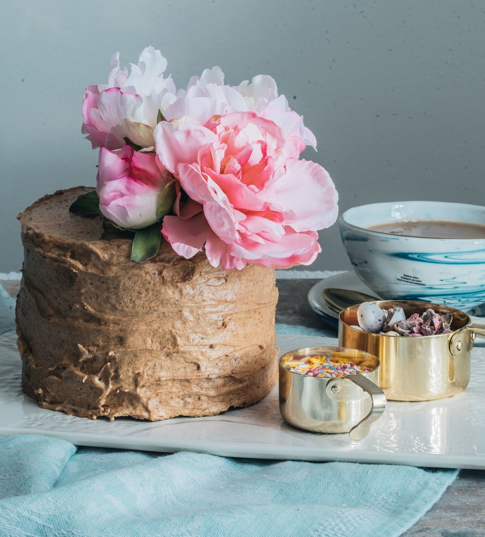Gluten Free Coffee and Walnut Cake Recipe