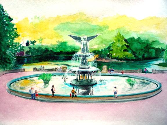 Chanit Small Bethesda Fountain.jpg