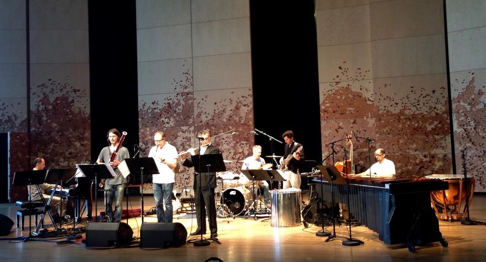 De gauche à droite - Eric Sammut, Marc Trénel, Olivier Derbesse, Vicens Prats, Nicholas Martynciow, Mathias Lopez, Vitier Vivas