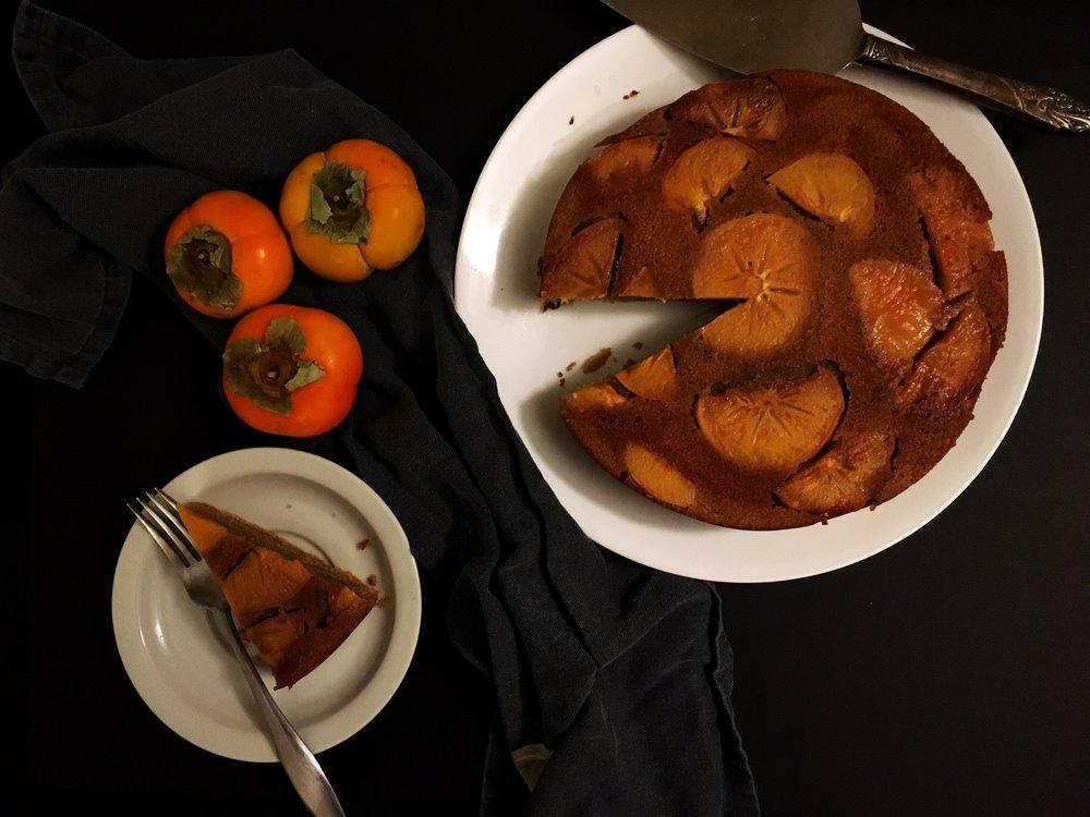 spicedpersimmoncake