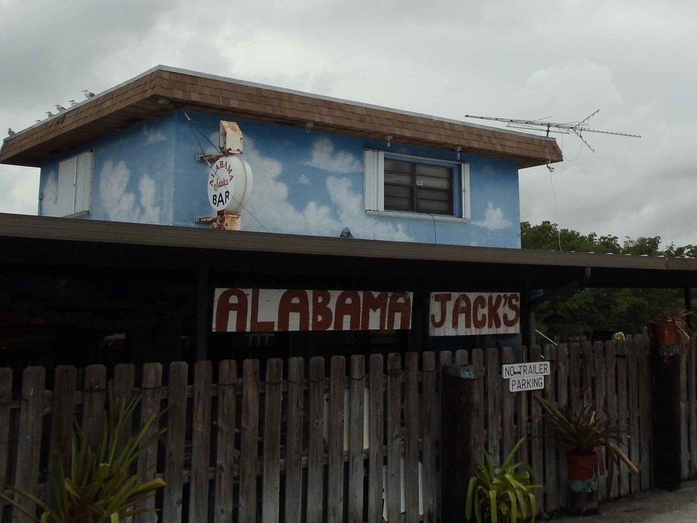 Alabama Jack's Exterior