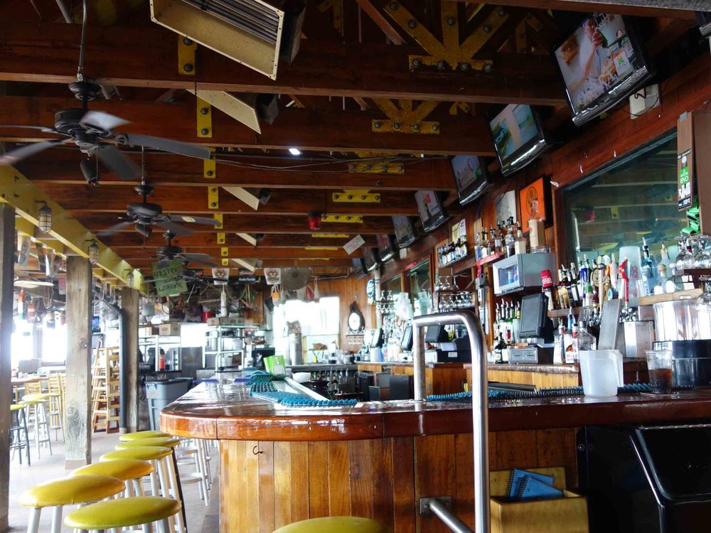 AJ's Seafood and Oyster Bar Interior Bar and Grill