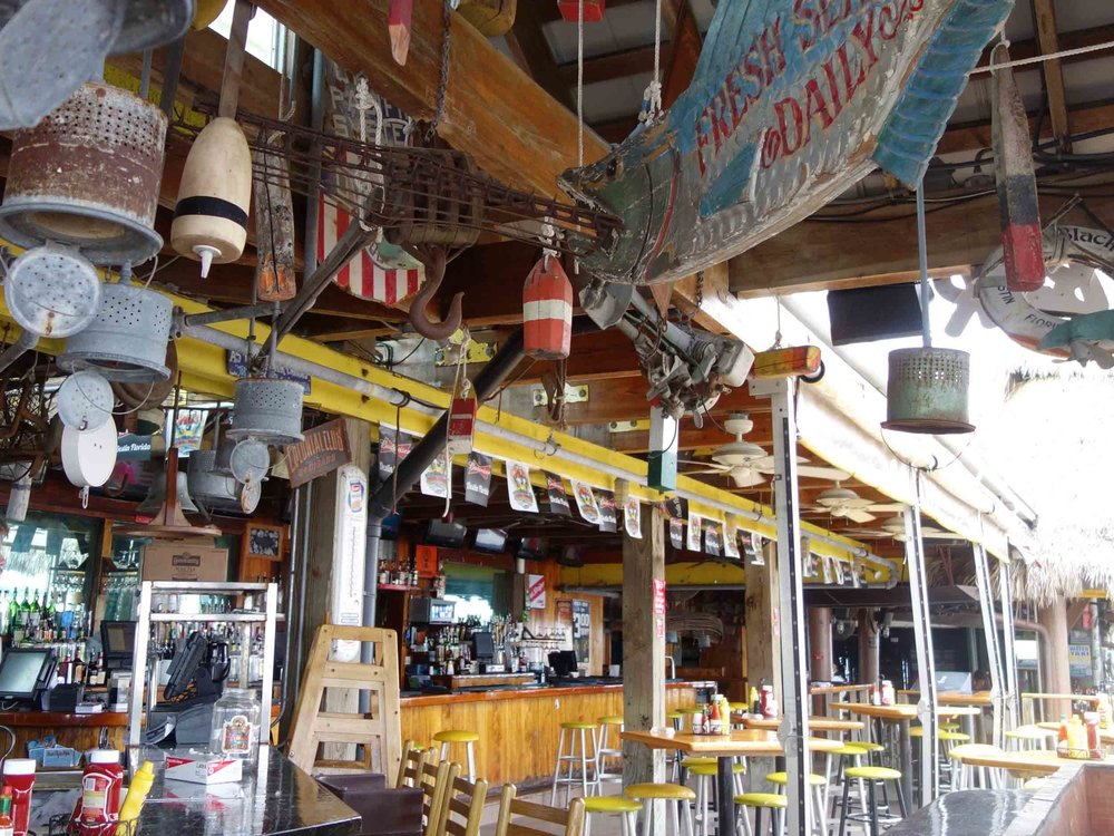 AJ's Seafood and Oyster Bar Interior