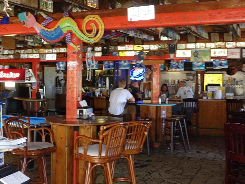 Archie's Seabreeze Interior Dining Area