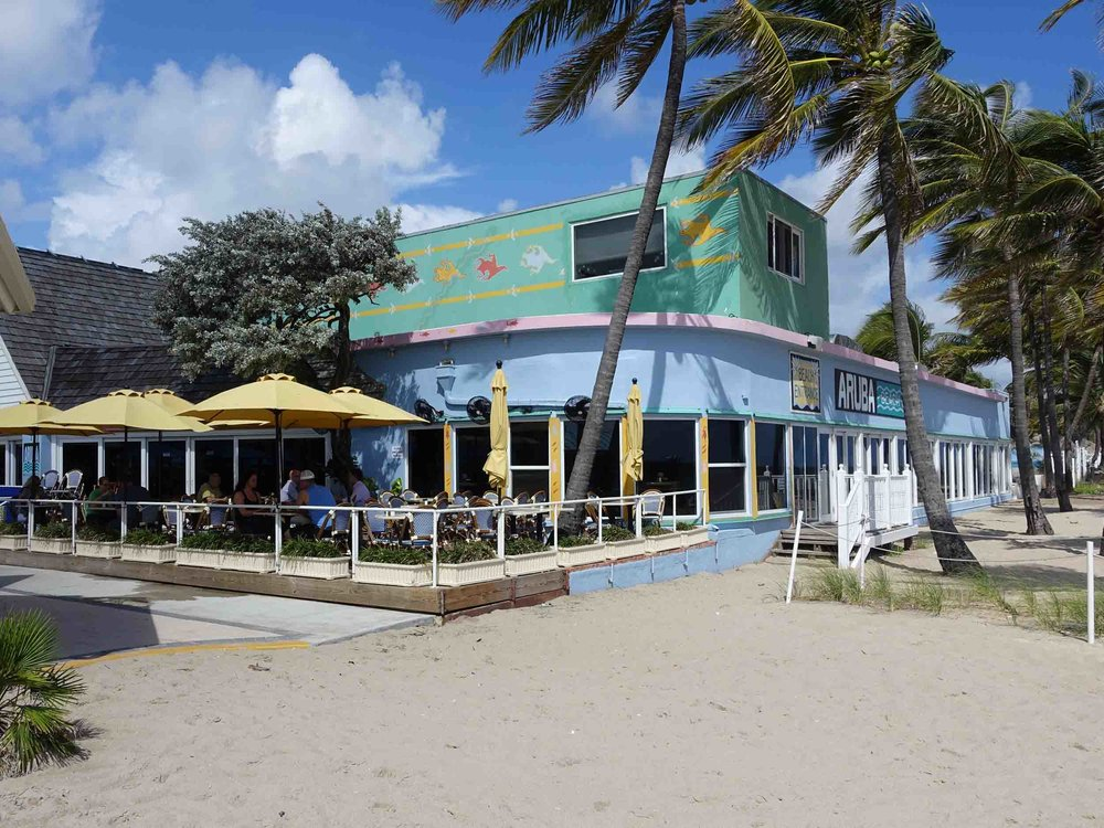 Aruba Beach Cafe Patio