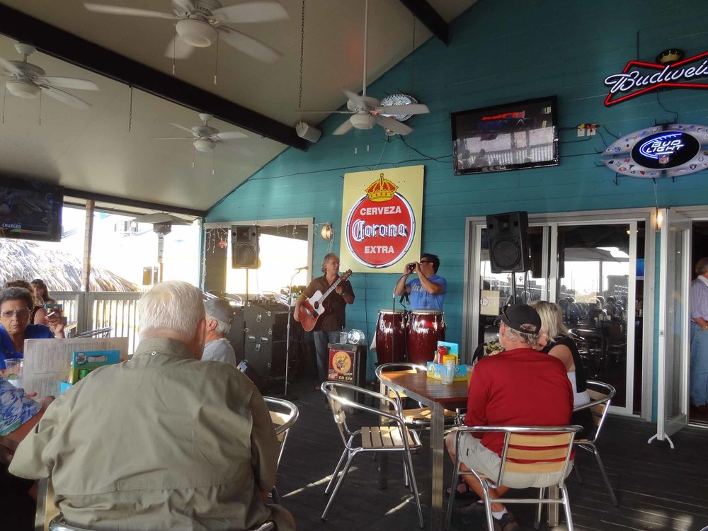 Live Music at the Salty Rim Grill