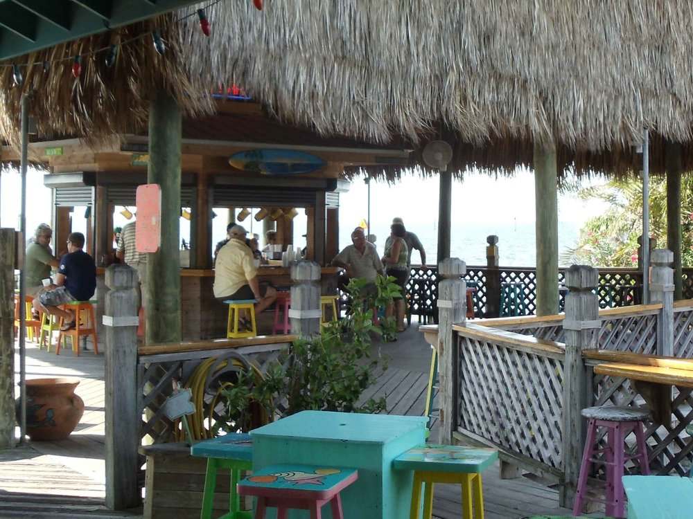 Sam's Beach Bar Interior