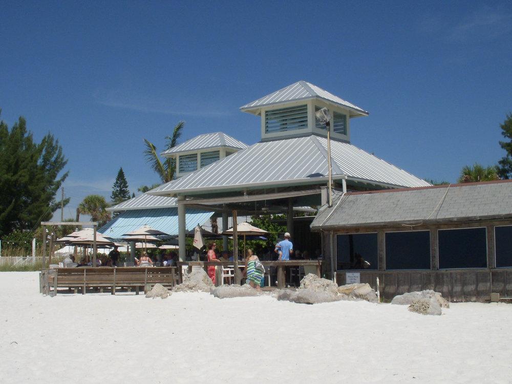 Sandbar Restaurant Exterior