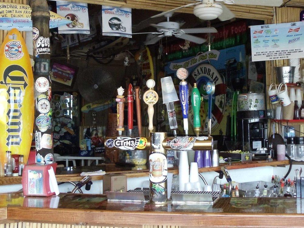Sandbar Sports Grill Bar Area