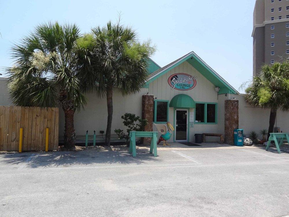Sandshaker Lounge Exterior
