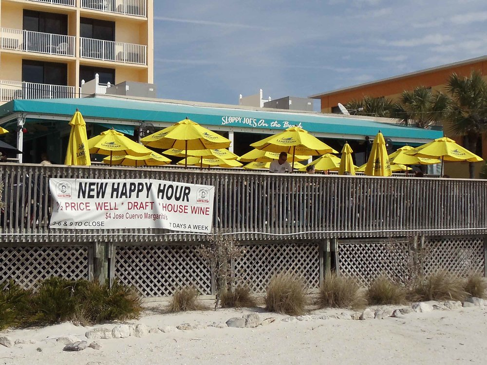 Sloppy Joe's on the Beach Exterior