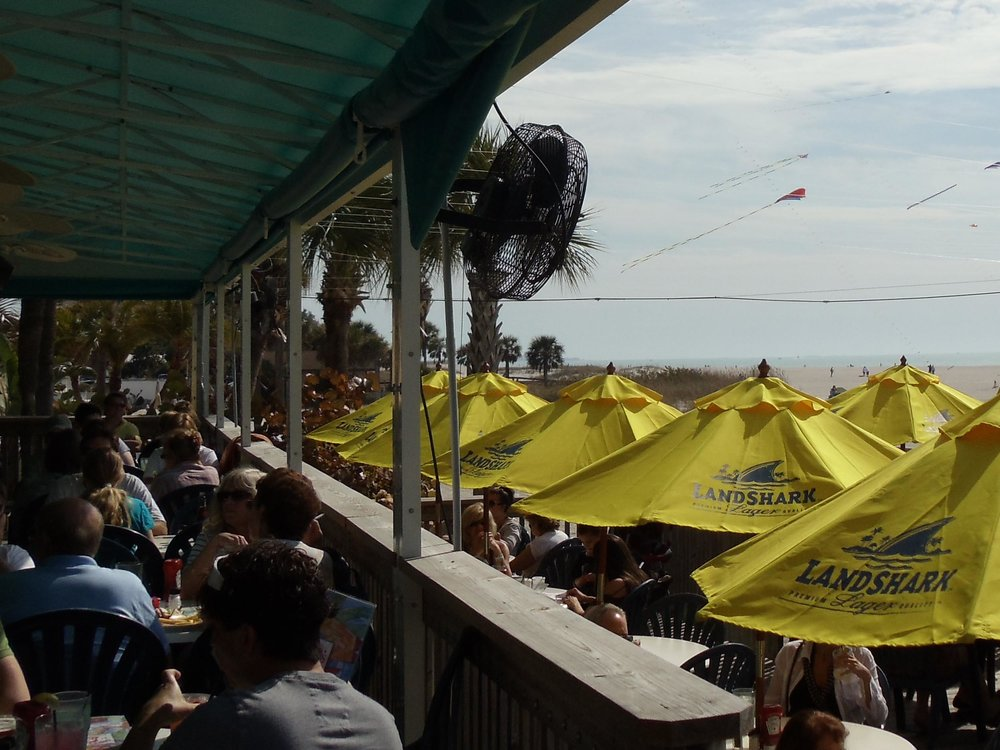 Sloppy Joe's on the Beach Outdoor Area