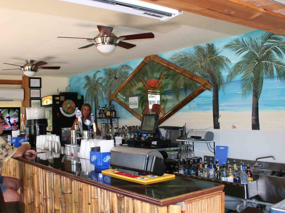 Bamboo Beach Bar Interior
