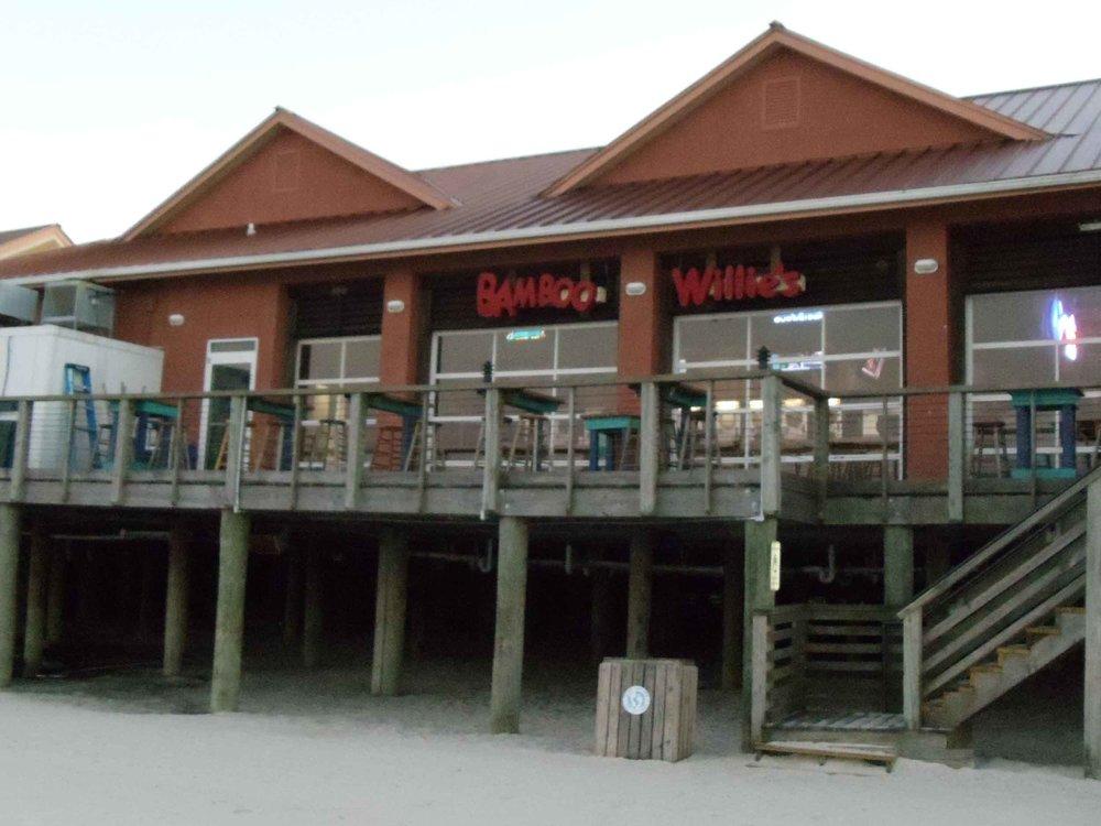 Bamboo Willie's Beachside Bar Beachfront