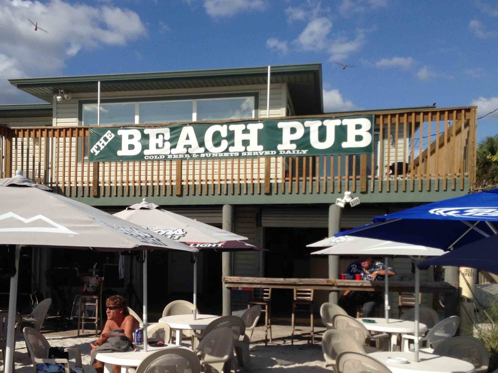 The Beach Pub Exterior