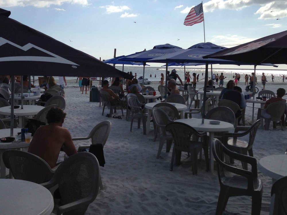 The Beach Pub Tables