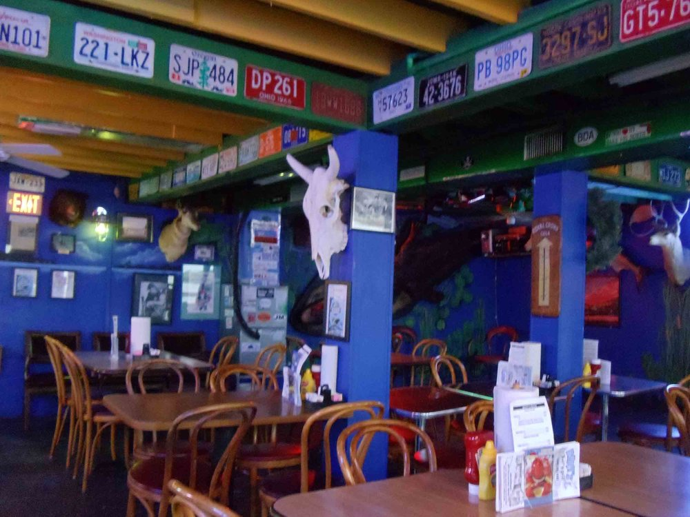 Bert's Bar and Grill Interior